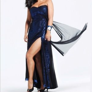 Plus Size Prom/Evening Gown